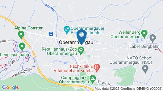 Ferienhaus Fux Hotel Garni Map