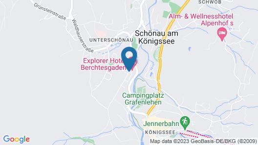 Explorer Hotel Berchtesgaden Map