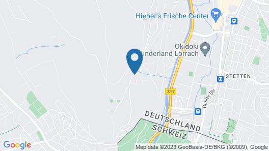 Maien Hotel & Restaurant Map