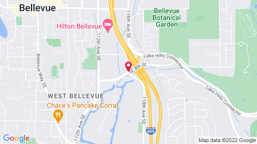 Residence Inn by Marriott Bellevue Downtown Map