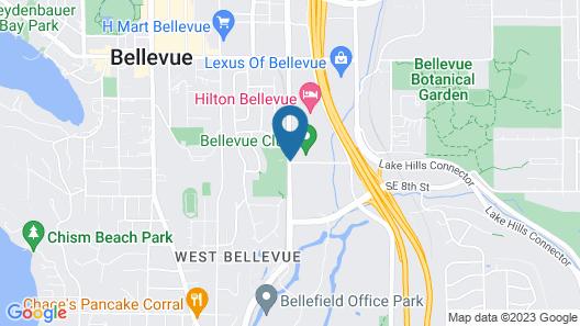 Bellevue Club Hotel Map