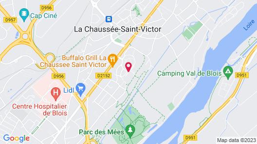 Villa Bellagio Blois Map