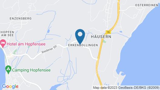Ferienhof und Gästehaus Geiger Map