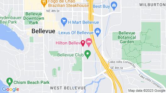 Hilton Bellevue Map