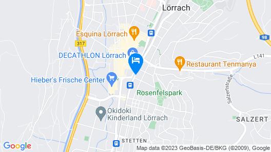 Hotel Heimathafen Map
