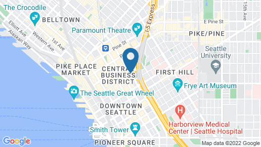 Hilton Seattle Map