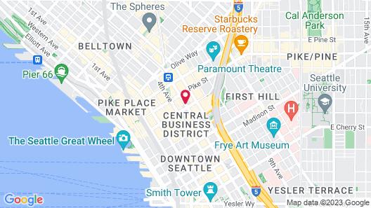 Motif Seattle, a Destination by Hyatt Hotel Map