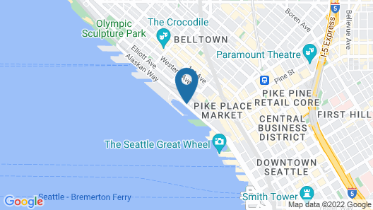 Seattle Marriott Waterfront Map