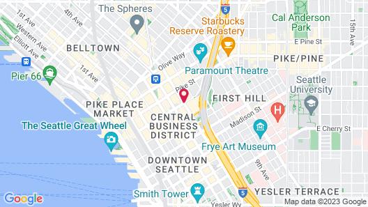 Sheraton Grand Seattle Map