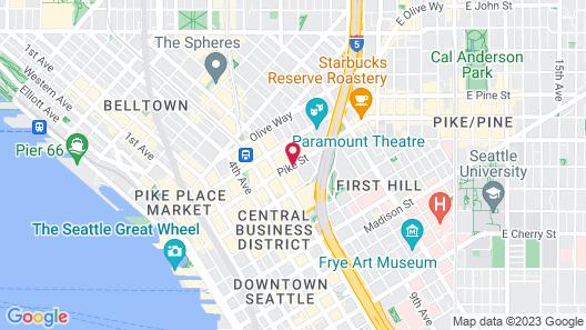 Hotel Theodore Map