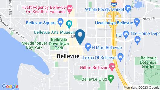 AC Hotel by Marriott Seattle Bellevue/Downtown Map