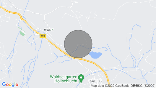 1 Bedroom Accommodation in Nesselwang Map