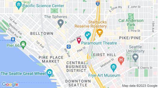 Grand Hyatt Seattle Map