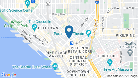 The Westin Seattle Map