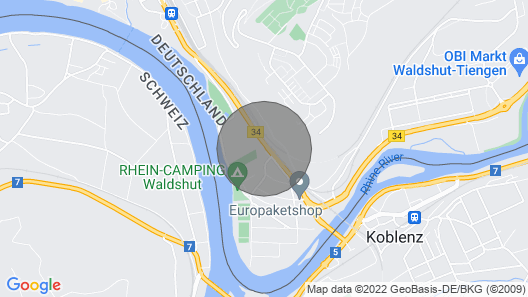 Villa Rheinblick Waldshut Map