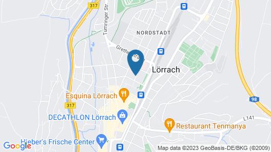Pensionsieben Das andere Hotel Map
