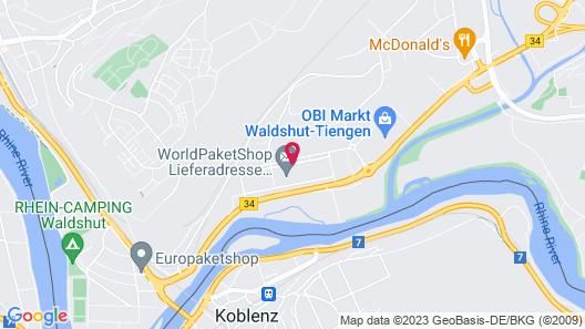 Sport Hotel Waldshut Map