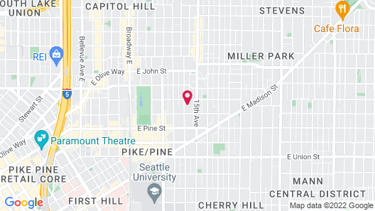 Capitol Hill Cozy Condos Map