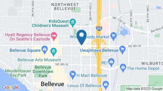 Courtyard by Marriott Seattle Bellevue/Downtown Map