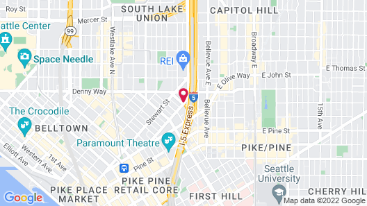 SpringHill Suites by Marriott Seattle Downtown/ S Lake Union Map