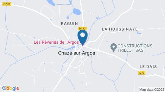 Les Rêveries Map