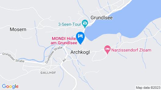 MONDI Hotel am Grundlsee Map