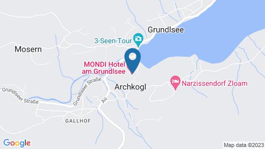 MONDI Chalets am Grundlsee Map