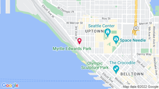 Homewood Suites by Hilton-Seattle-Downtown, WA Map