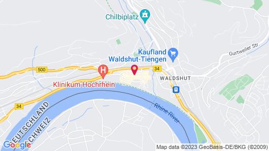 Waldshuter Hof Map