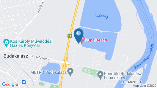 Lupa Camping Map