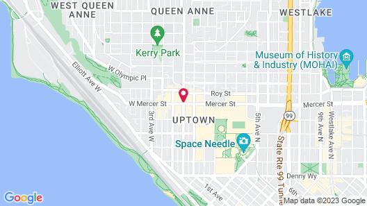 MarQueen Hotel Map