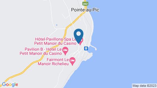 Hôtel Le Petit Manoir du Casino Map