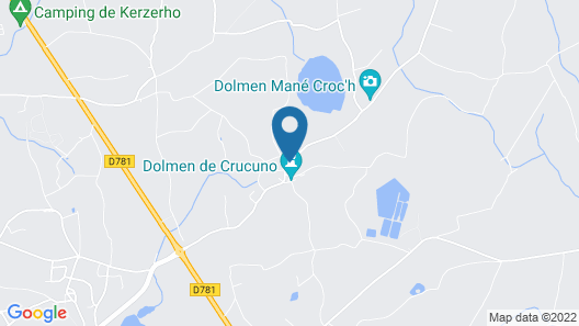 Apartment TO Rent AT Crucuno Erdeven Map