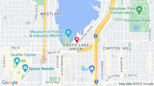 Residence Inn by Marriott Seattle Downtown/Lake Union Map