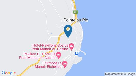 Auberge La Chatelaine Map