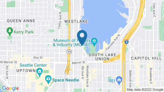 Courtyard by Marriott Seattle Downtown Lake Union Map