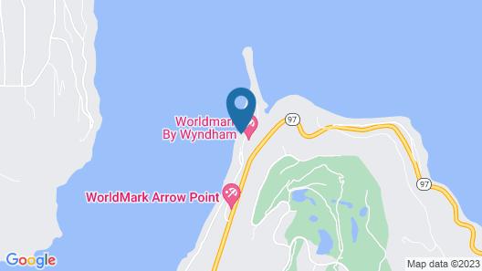 Bucolic Beauty - Waterfront Luxury Condo on Lake Coeur D'alene Map