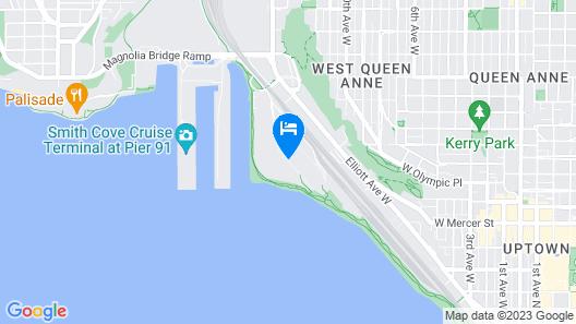 Gemba Walk on Elliott Bay Test Property  Map