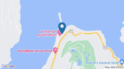 Wonderful Lakeside Getaway And/or Retreat Map