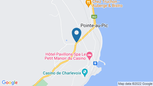 Auberge des 3 Canards Map