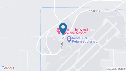 SpringHill Suites by Marriott Spokane Airport Map
