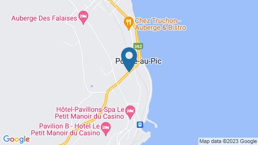 Hôtel Au Petit Berger Map