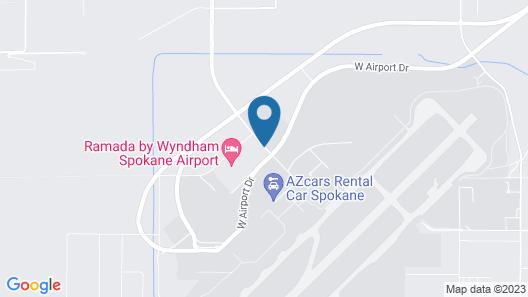 Wingate By Wyndham Spokane Airport Map