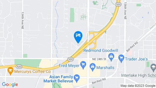 Sonesta Select Seattle Bellevue Map