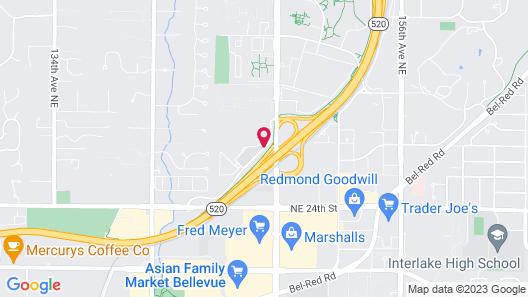 Fairfield Inn & Suites Seattle Bellevue/Redmond Map