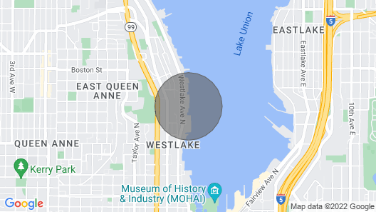 Rock to sleep in this delightful Houseboat home in Seattle! Map