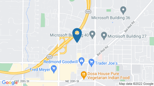 Aloft Seattle Redmond Map