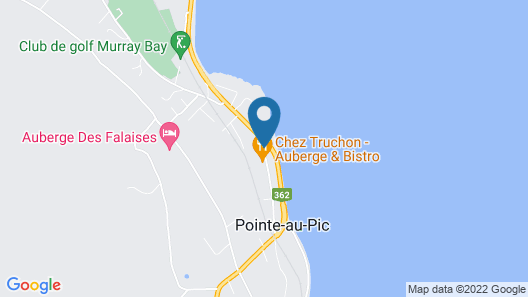 Hôtel-Motel Castel de la Mer Map