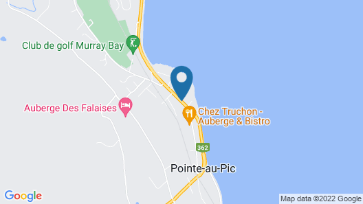 Motel le Mirage Map