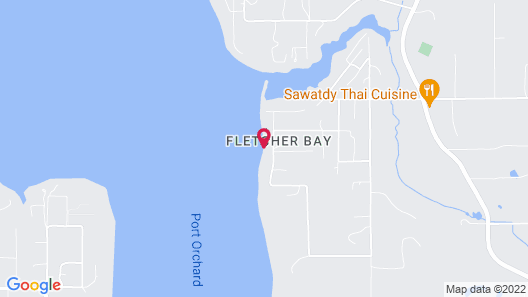 Bayside Retreat Home by RedAwning Map